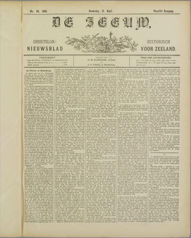De Zeeuw. Christelijk-historisch nieuwsblad voor Zeeland 1898-04-21