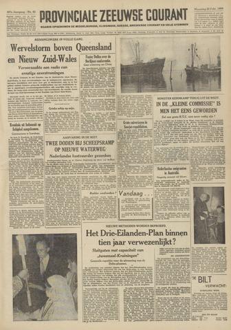 Provinciale Zeeuwse Courant 1954-02-22