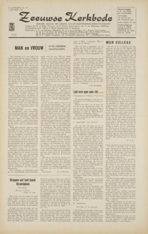 Zeeuwsche kerkbode, weekblad gewijd aan de belangen der gereformeerde kerken/ Zeeuwsch kerkblad 1966-09-30