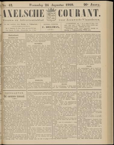 Axelsche Courant 1910-08-24
