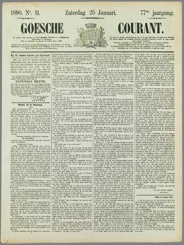 Goessche Courant 1890-01-25