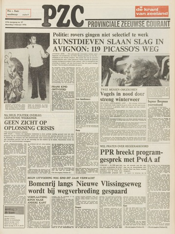 Provinciale Zeeuwse Courant 1976-02-02