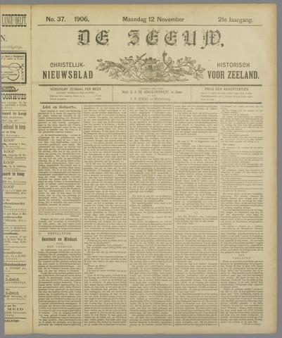 De Zeeuw. Christelijk-historisch nieuwsblad voor Zeeland 1906-11-12