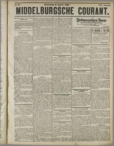 Middelburgsche Courant 1921-04-09