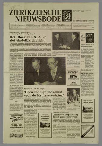 Zierikzeesche Nieuwsbode 1985-11-28