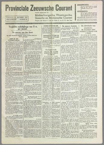Provinciale Zeeuwse Courant 1940-12-27