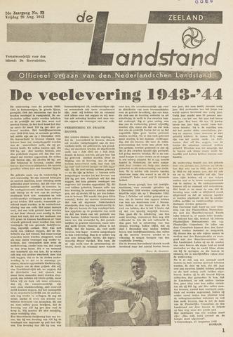 De landstand in Zeeland, geïllustreerd weekblad. 1943-08-20