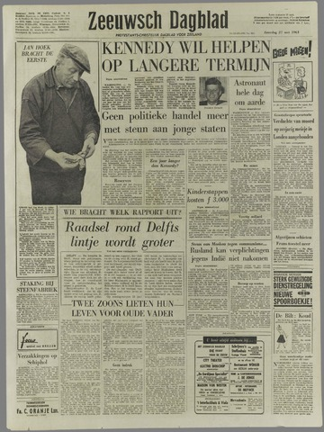 Zeeuwsch Dagblad 1961-05-27