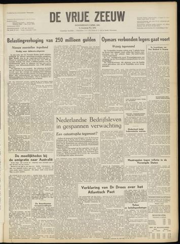 de Vrije Zeeuw 1951-04-05