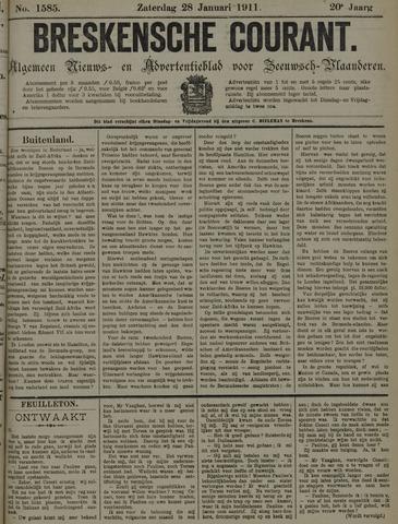 Breskensche Courant 1911-01-28
