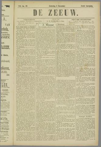 De Zeeuw. Christelijk-historisch nieuwsblad voor Zeeland 1891-12-05
