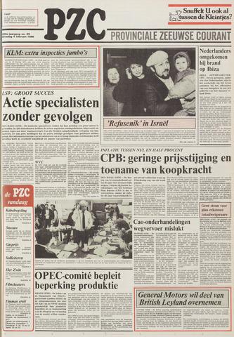 Provinciale Zeeuwse Courant 1986-02-04