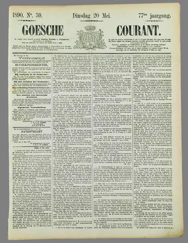 Goessche Courant 1890-05-20