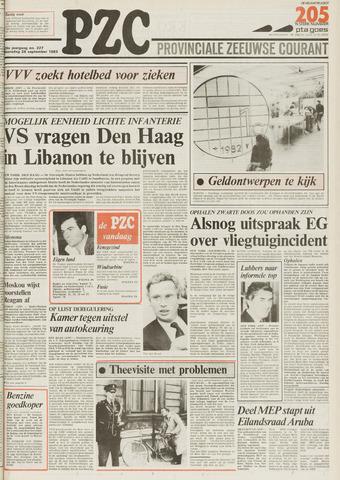 Provinciale Zeeuwse Courant 1983-09-28