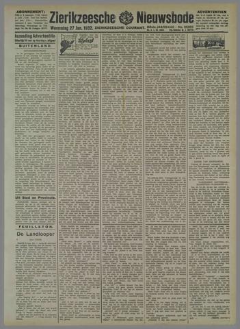 Zierikzeesche Nieuwsbode 1932-01-27