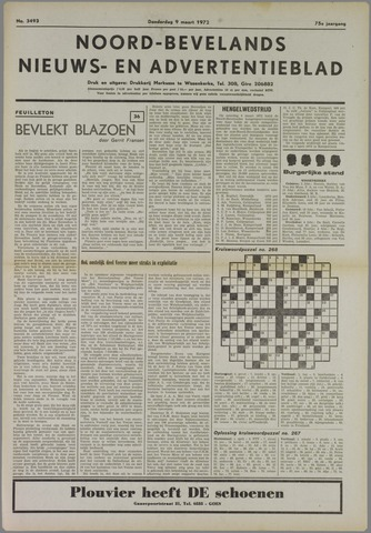 Noord-Bevelands Nieuws- en advertentieblad 1972-03-09