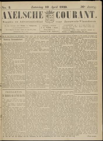 Axelsche Courant 1920-04-10