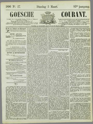 Goessche Courant 1896-03-03