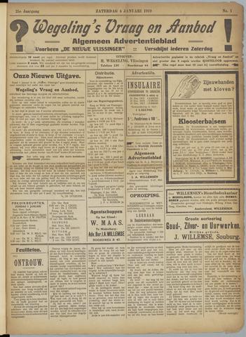 Zeeuwsch Nieuwsblad/Wegeling's Nieuwsblad 1919