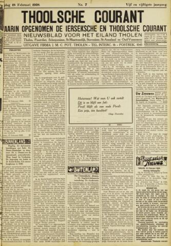 Ierseksche en Thoolsche Courant 1938-02-18