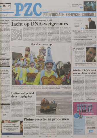 Provinciale Zeeuwse Courant 2006-03-01