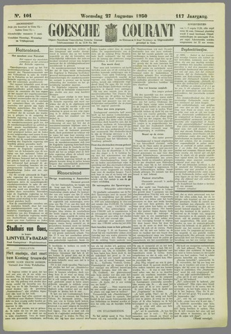 Goessche Courant 1930-08-27