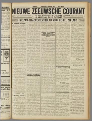 Nieuwe Zeeuwsche Courant 1930-11-27