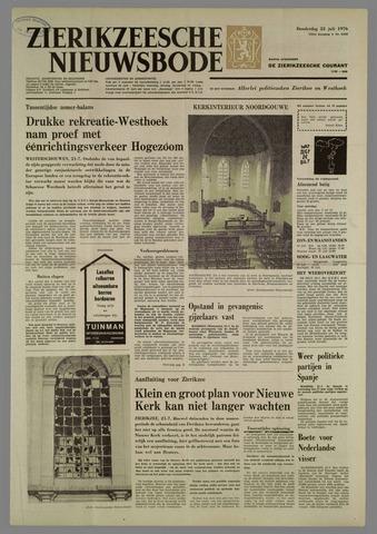 Zierikzeesche Nieuwsbode 1976-07-22