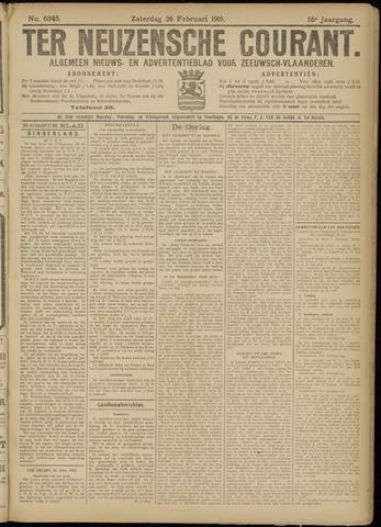 Ter Neuzensche Courant. Algemeen Nieuws- en Advertentieblad voor Zeeuwsch-Vlaanderen / Neuzensche Courant ... (idem) / (Algemeen) nieuws en advertentieblad voor Zeeuwsch-Vlaanderen 1916-02-26