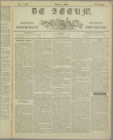 De Zeeuw. Christelijk-historisch nieuwsblad voor Zeeland 1896-10-06