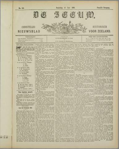 De Zeeuw. Christelijk-historisch nieuwsblad voor Zeeland 1898-06-16