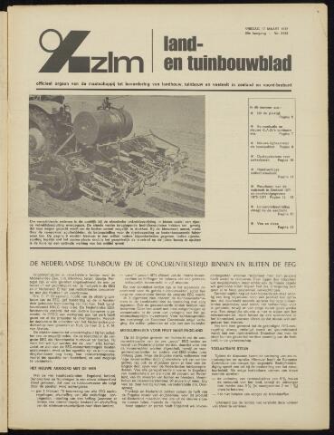 Zeeuwsch landbouwblad ... ZLM land- en tuinbouwblad 1972-03-17
