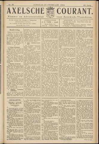 Axelsche Courant 1934-02-27