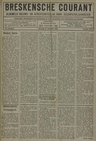 Breskensche Courant 1920-11-27