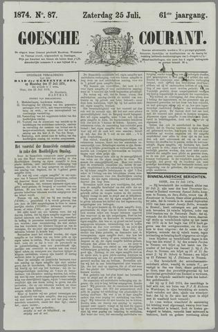 Goessche Courant 1874-07-25