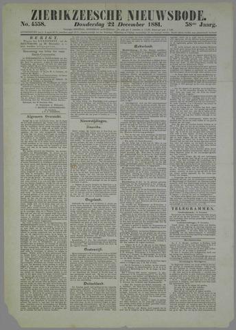 Zierikzeesche Nieuwsbode 1881-12-22