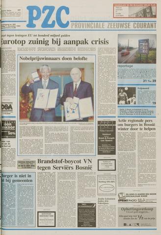 Provinciale Zeeuwse Courant 1993-12-11