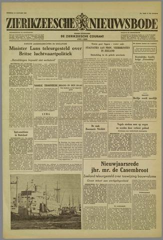 Zierikzeesche Nieuwsbode 1959-01-13