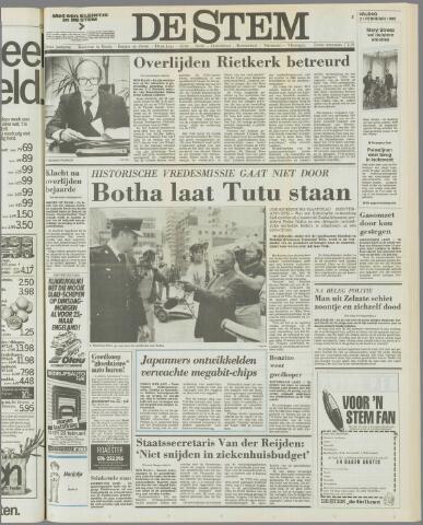 de Stem 1986-02-21