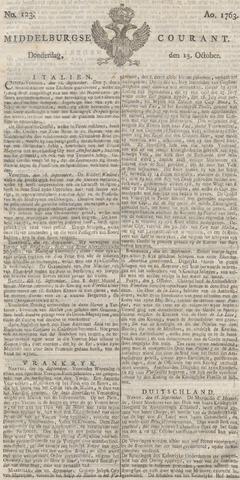 Middelburgsche Courant 1763-10-13