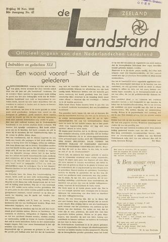 De landstand in Zeeland, geïllustreerd weekblad. 1943-11-26