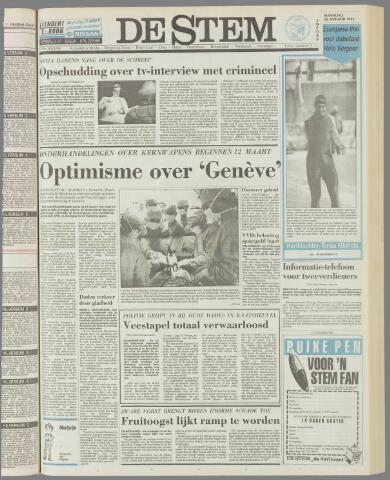 de Stem 1985-01-28