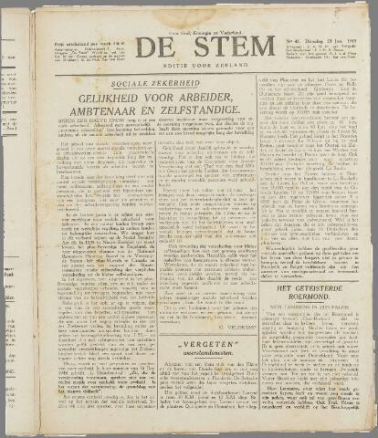 de Stem 1945-01-23