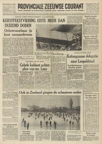 Provinciale Zeeuwse Courant 1961-12-27