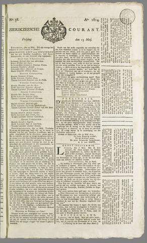 Zierikzeesche Courant 1814-05-13