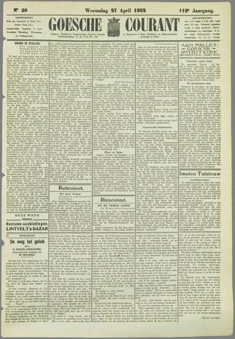 Goessche Courant 1932-04-27