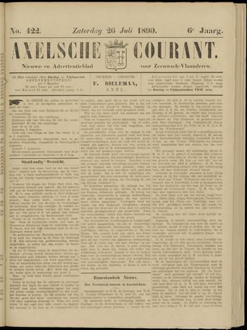 Axelsche Courant 1890-07-26