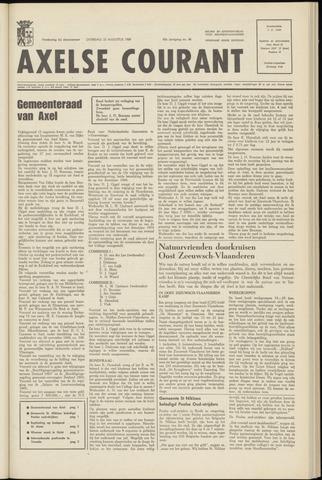 Axelsche Courant 1969-08-23