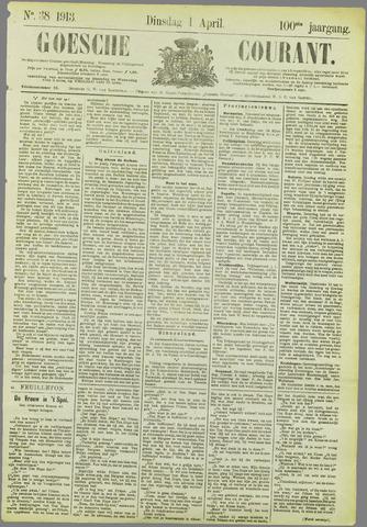 Goessche Courant 1913-04-01
