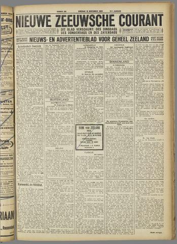 Nieuwe Zeeuwsche Courant 1923-11-13